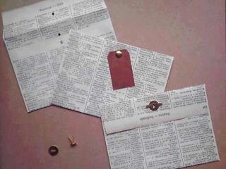 【封筒】古いドイツ語辞書