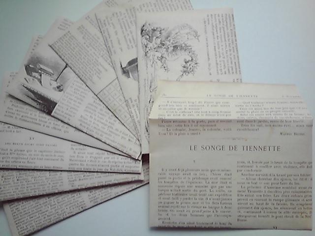 【封筒】新作「19世紀の印刷物」