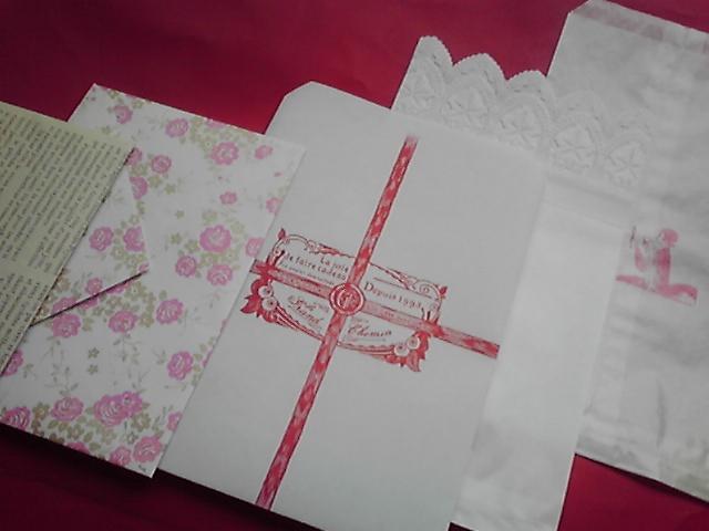 【平袋·封筒】新作「復刻バターの包装紙」入りセット