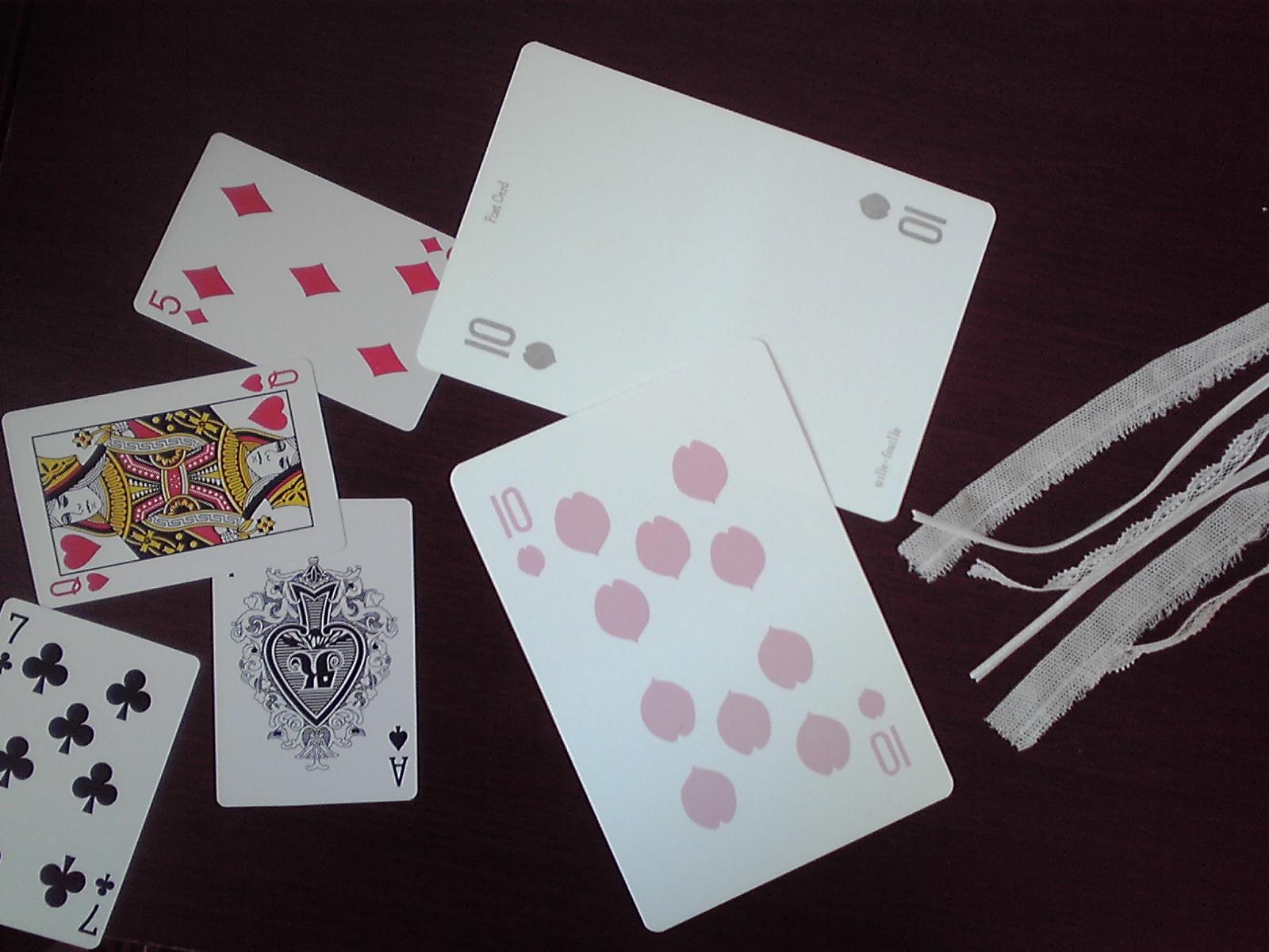 【Lykkelig】ポストカード「さくらトランプ」追加!