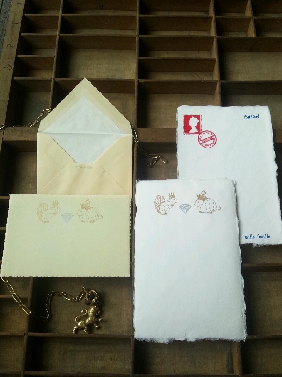 【a small shop】ダイヤモンド・ジュビリー・カード&「灰狼」入荷!ほか